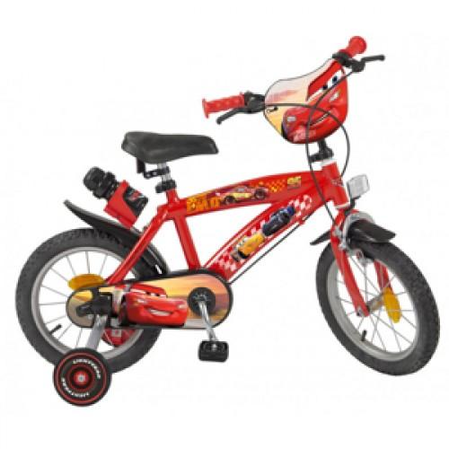 "Bicicleta 14"" Cars - baieti - Toimsa"