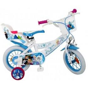 """Bicicleta 14"""" Frozen - fete - Toimsa"""