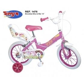"""Bicicleta 14"""" Mia & Me - Toimsa"""