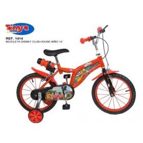 Bicicleta 14 Mickey Mouse Club House - baieti - Toimsa
