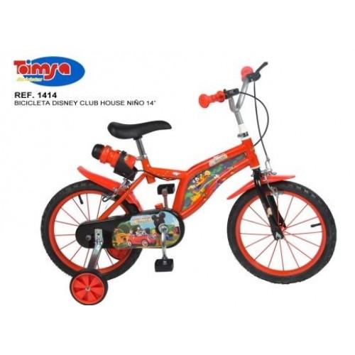 Bicicleta 14 Mickey Mouse Club House - baieti - Toimsa