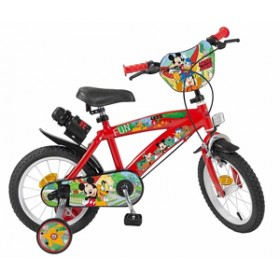 "Bicicleta 14"" Mickey Mouse Club House - baieti - Toimsa"