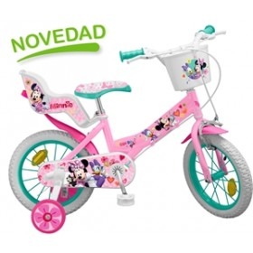 Bicicleta 14 Minnie Mouse Club House - fete - Toimsa