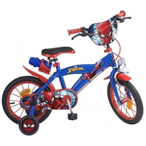 Bicicleta 14'' Spiderman - baieti - Toimsa