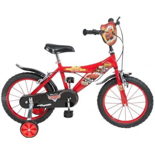 "Bicicleta 16"" Cars - baieti - Toimsa"