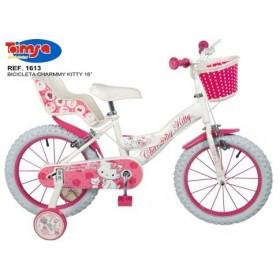 """Bicicleta 16"""" Charmmy Kitty - fete - Toimsa"""