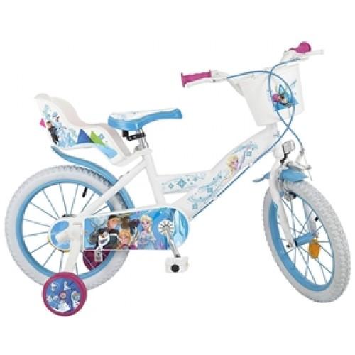 """Bicicleta 16"""" Frozen - fete - Toimsa"""