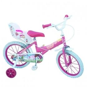 """Bicicleta 16"""" Mia & Me - fete - Toimsa"""