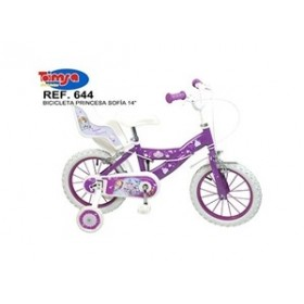 "Bicicleta 16"" Sofia the first - fete - Toimsa"