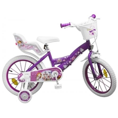 "Bicicleta 16"" Sofia the first - fete - Toimsa"