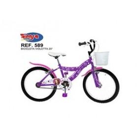 """Bicicleta 20"""" Violeta - fete - Toimsa"""