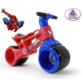 Bicicleta fara pedale Injusa Rayo Spiderman