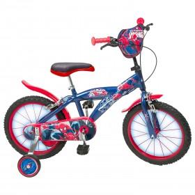 Bicicleta 16'' Spiderman - baieti - Toimsa