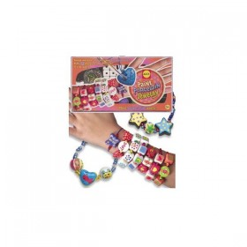 Bijuterii colorate de portelan