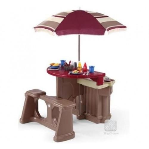 Bucatarie pentru copii - Grill & Play Patio Cafe - STEP2
