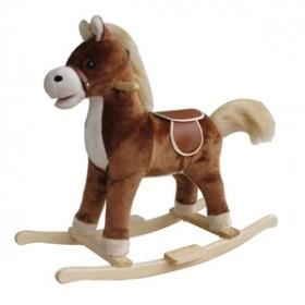 Calut de lemn balansoar - maro New Classic Toys