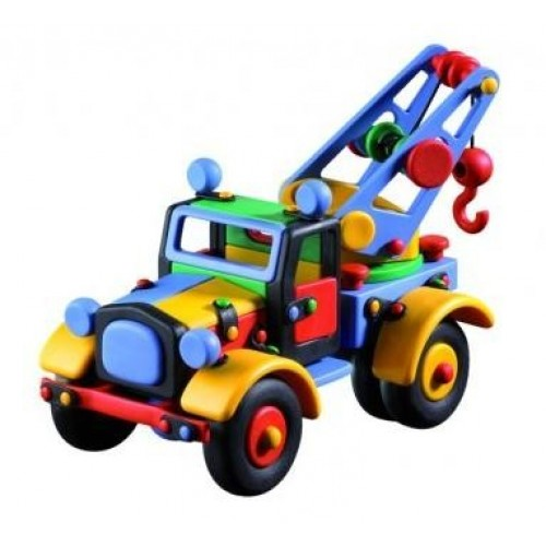 Camion mare cu macara - Mic o Mic