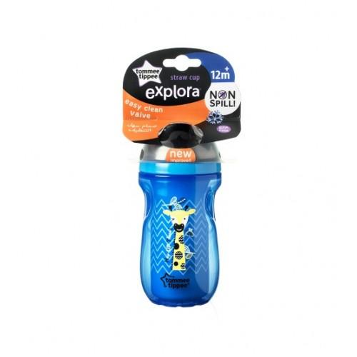 Cana cu pai izoterma Explora 260 ml Tommee Tippee - 12 luni+
