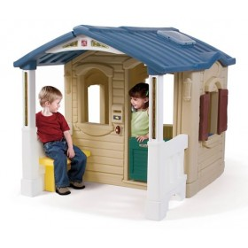 Casuta cu pridvor - Naturally Playful Front Porch Playhouse STEP2
