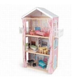 Casuta de pe plaja Seaside Dollhouse - KidKraft