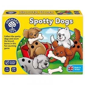 Catelusii patati - Spotty Dogs - Orchard Toys