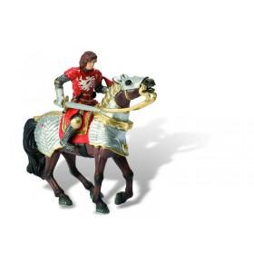 Cavaler pe cal (Iron Heart rosu)
