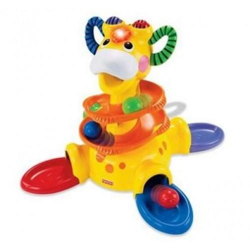 Centru activitati Go Baby Go! Sit-to-Stand Giraffe Fisher Price