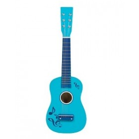 Chitara albastra New Classic Toys