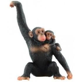Cimpanzeu cu pui - Bullyland