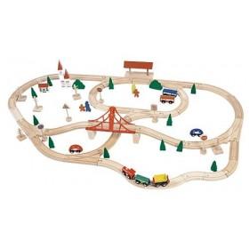 Circuit tren cu pod Woody
