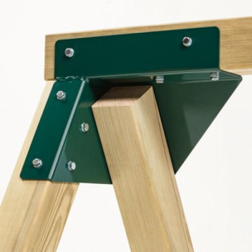 Coltar universal forma patrata, unghi oblic - Verde - KBT