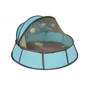 Cort Anti-UV Babyni 2 in 1 Blu-Taupe Premium - Babymoov