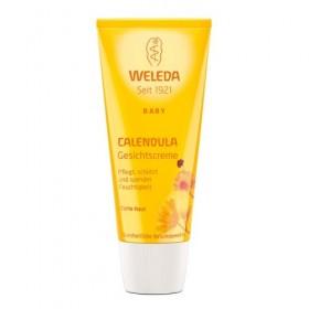 Cremă facială hidratantă cu gălbenele - Weleda Baby