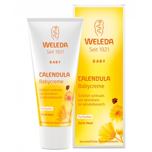 Crema cu gabenele pentru zona scutecului - Weleda Baby
