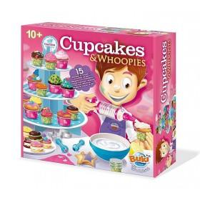 Cupcakes & Whoopies - 15 retete si accesorii pentru prajituri - Buki