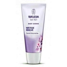 Derma - Crema faciala cu nalba alba - Weleda Baby