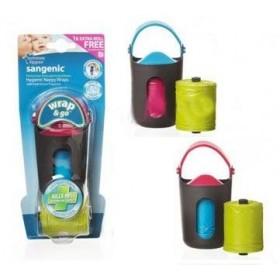Dispozitiv Wrap & Go + 2 rezerve parfumate Tommee Tippee