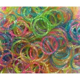 Elastice Rainbow Loom - Lucios