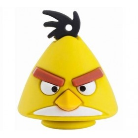 Figurina Angry Bird - Yellow Bird + USB 4 GB