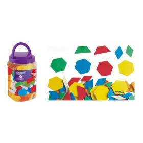 Forme geometrice diverse - 250 piese - Melissa and Doug