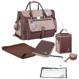Geanta multifunctionala free hand brown/blue