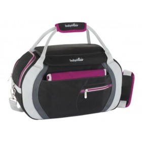 Geanta multifunctionala Sport Style Bag black/hibiscus