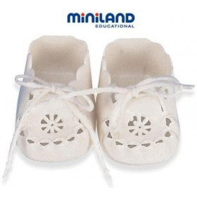 Pantofi perforati pentru papusi 38 - 42 cm