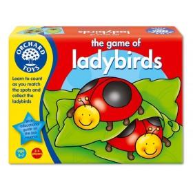 Invațtam sa numaram cu gargaritele - Ladybirds - Orchard Toys