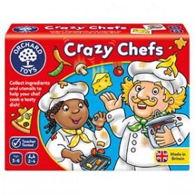 Joc educativ Bucatarii nazdravani - Crazy Chefs - Orchard Toys