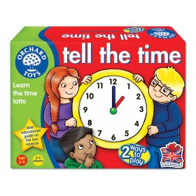 Joc educativ loto in limba engleza - Citeste ceasul Tell The Time - Orchard Toys