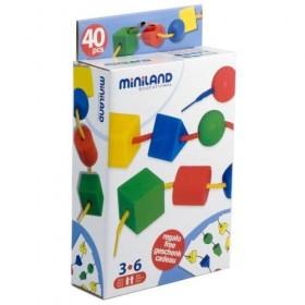 Joc cu 40 forme geometrice pentru sortat si insirat