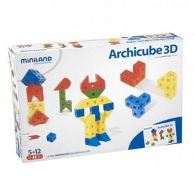 Joc de constructie Arhicube 3D