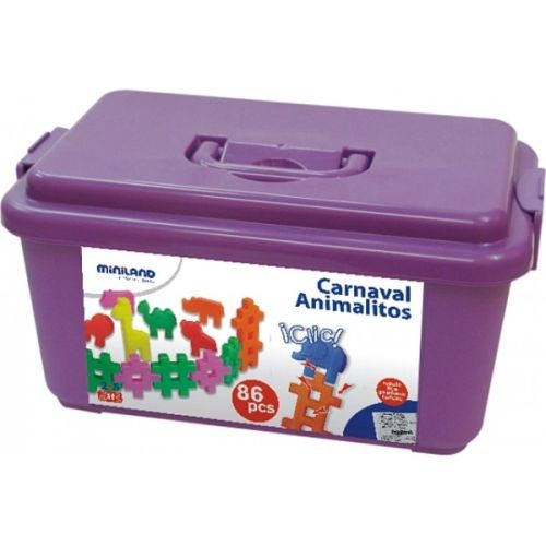 Joc de constructii Carnavalul animalelor