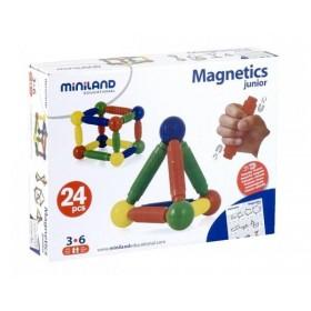 Joc de constructii - Magnetic Junior - Miniland